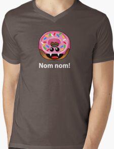 NOM NOM! Mens V-Neck T-Shirt