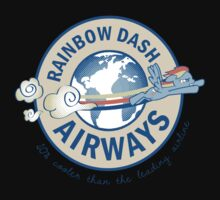 Rainbow Dash Airways Kids Tee
