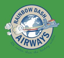 Rainbow Dash Airways Kids Clothes