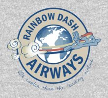 Rainbow Dash Airways One Piece - Long Sleeve