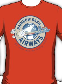 Rainbow Dash Airways T-Shirt