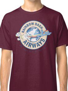 Rainbow Dash Airways Classic T-Shirt