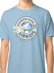 Rainbow Dash Airways Classic T-Shirt
