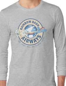 Rainbow Dash Airways Long Sleeve T-Shirt