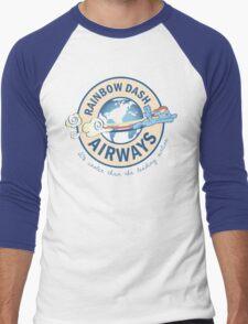 Rainbow Dash Airways Men's Baseball ¾ T-Shirt