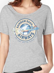Rainbow Dash Airways Women's Relaxed Fit T-Shirt