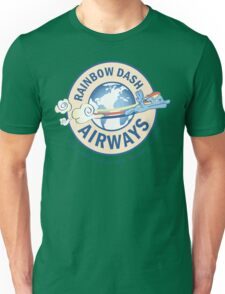 Rainbow Dash Airways Unisex T-Shirt