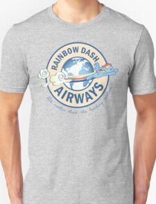 Rainbow Dash Airways Unisex T-Shirt