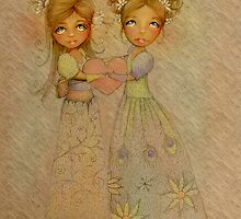 friends are special people by © Cassidy (Karin) Taylor