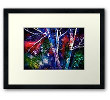 Winter...The Nothing That Is.... Framed Print