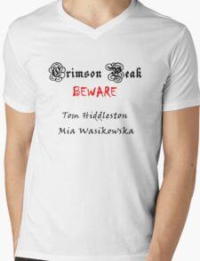 Beware to Crimson Peak Mens V-Neck T-Shirt
