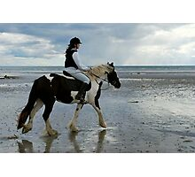 ... the Gypsy Cob! Photographic Print