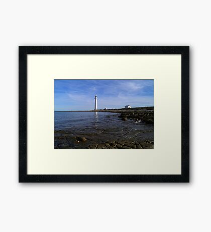 Point Lowly Lighthouse, Lowly Peninsula, South Australia Framed Print