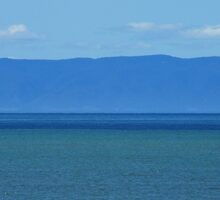 View of Flinders Ranges from Point Lowly, South Australia by Emma Sterling