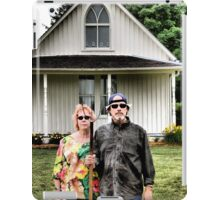 American Gothic Today iPad Case/Skin