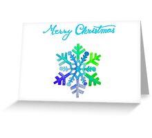 Dazzling Snowflake Greeting Card