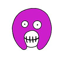 The Mighty Boosh – Purple Mask Photographic Print