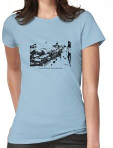 Whisper Central Railway Station Brisbane Womens Fitted T-Shirt