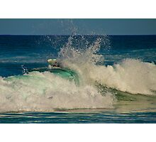 Dumped by a wave - Tallow's Beach Photographic Print
