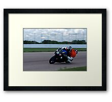 #76 at Heartland Park Topeka Framed Print