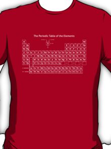 The Periodic Table of the Elements T-Shirt