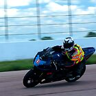 GSX-R 750 at Heartland Park Topeka by Paul Danger Kile