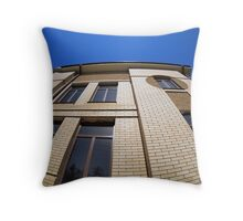 New office building, view from below Throw Pillow