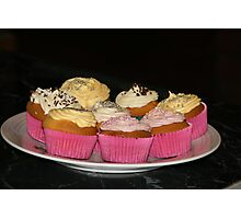 cup cakes Photographic Print