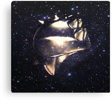 Ancient Warrior Helmet Canvas Print
