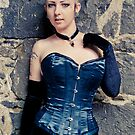 Paige in Vuples Corsetry by gigglemonster