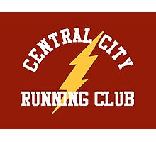 Central City Running Club – The Flash, Barry Allen Photographic Print