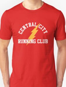 Central City Running Club – The Flash, Barry Allen T-Shirt