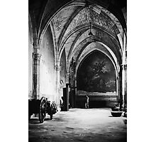 Inside the Cathedral of Toledo, Spain Photographic Print