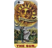 The Sun - Circus Tarot from Duck Soup Productions iPhone Case/Skin