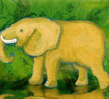 Elephant Doodle by ClaudiP