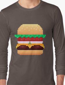 Pixel Krabby Patty V.1 Long Sleeve T-Shirt
