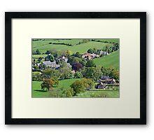 Rosedale village  Framed Print