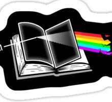Dark Side of the Reading Rainbow Sticker