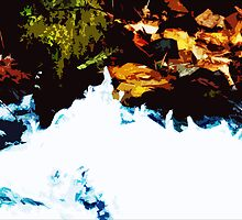 """""""River Side"""" - Edited photo from mountains around Portland, OR by Mikle"""