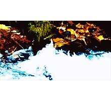 """""""River Side"""" - Edited photo from mountains around Portland, OR Photographic Print"""
