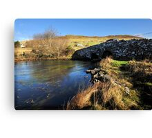 Quiet Man Bridge, Connemara. Ireland Canvas Print