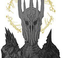 Sauron Black Speech by XpressUSelf