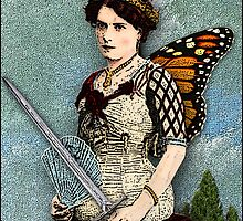 The Duchess of Blades - From Tarot of the Zirkus Magi by DuckSoupDotMe