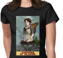 The Duchess of Blades - From Tarot of the Zirkus Magi Womens Fitted T-Shirt