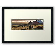 Skagit Panorama Framed Print