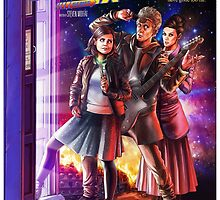 Doctor Who Back to the Future by fdranka