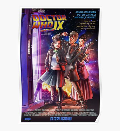 Doctor Who Back to the Future Poster