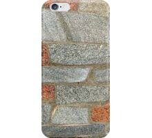 Mosaics made of large stone blocks of marble iPhone Case/Skin
