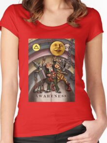 AWARENESS - from The Marvelous Oracle of Oz Women's Fitted Scoop T-Shirt