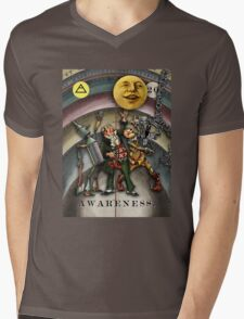 AWARENESS - from The Marvelous Oracle of Oz Mens V-Neck T-Shirt